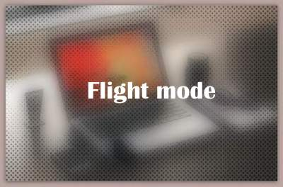 About Flight mode
