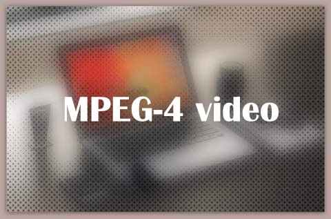 MPEG-4 video