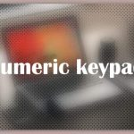 About Numeric keypad