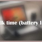 About Talk time (battery life)
