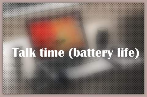 Talk time (battery life)