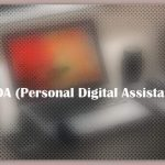 About PDA (Personal Digital Assistant)
