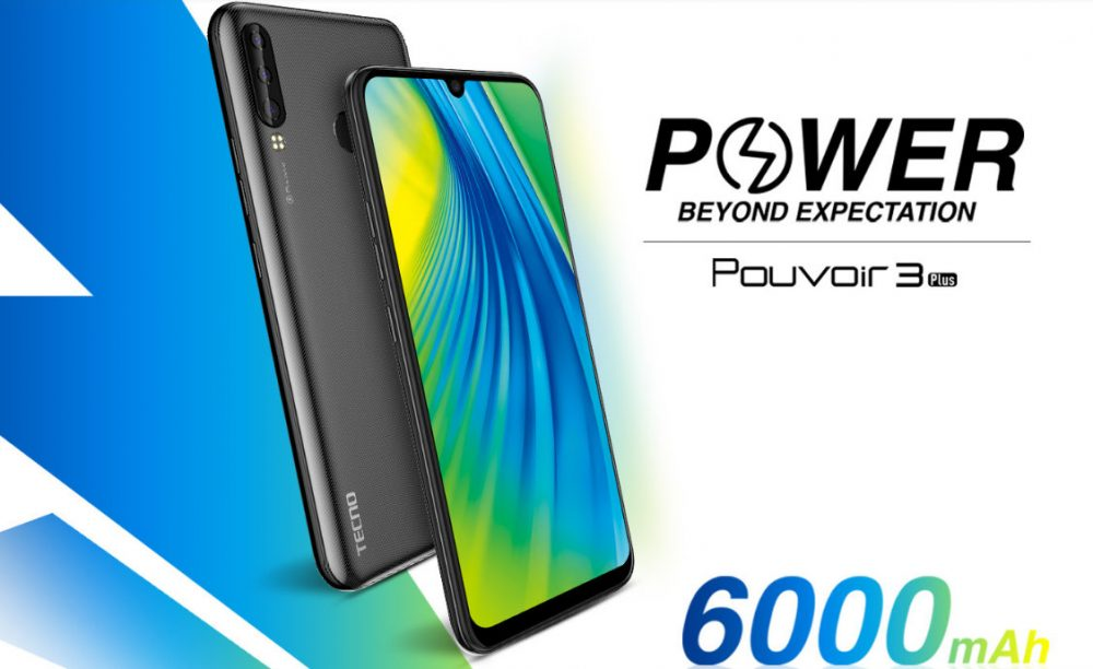 TECNO Pouvoir 3 Plus Full Specifications and Price