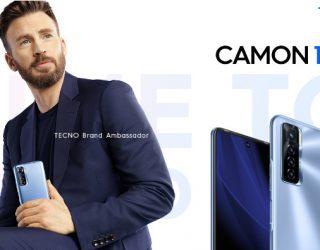 American actor, Chris Evans Joins TECNO mobile as a Brand Ambassador