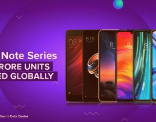 Xiaomi announces the sale of over 200 million units of Redmi Note series smartphones globally